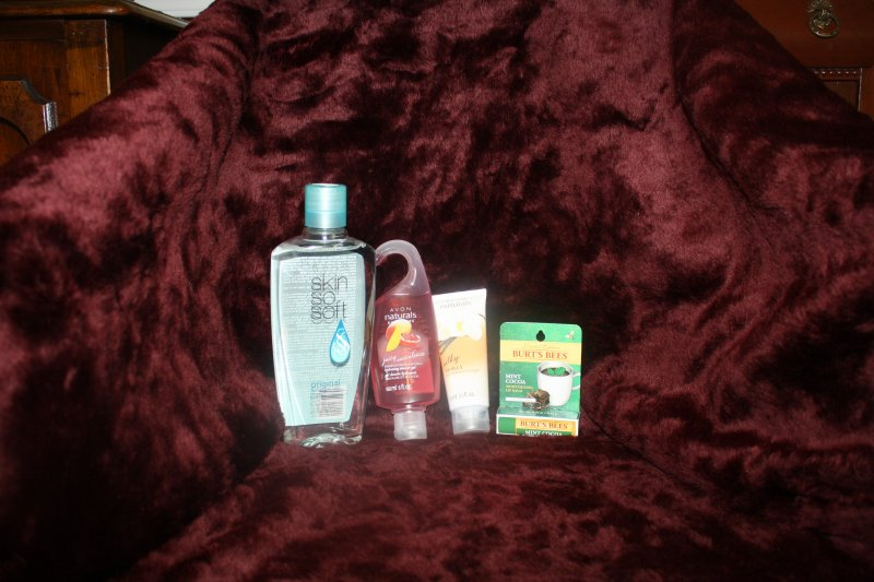 51. Skin so soft w/personal care items