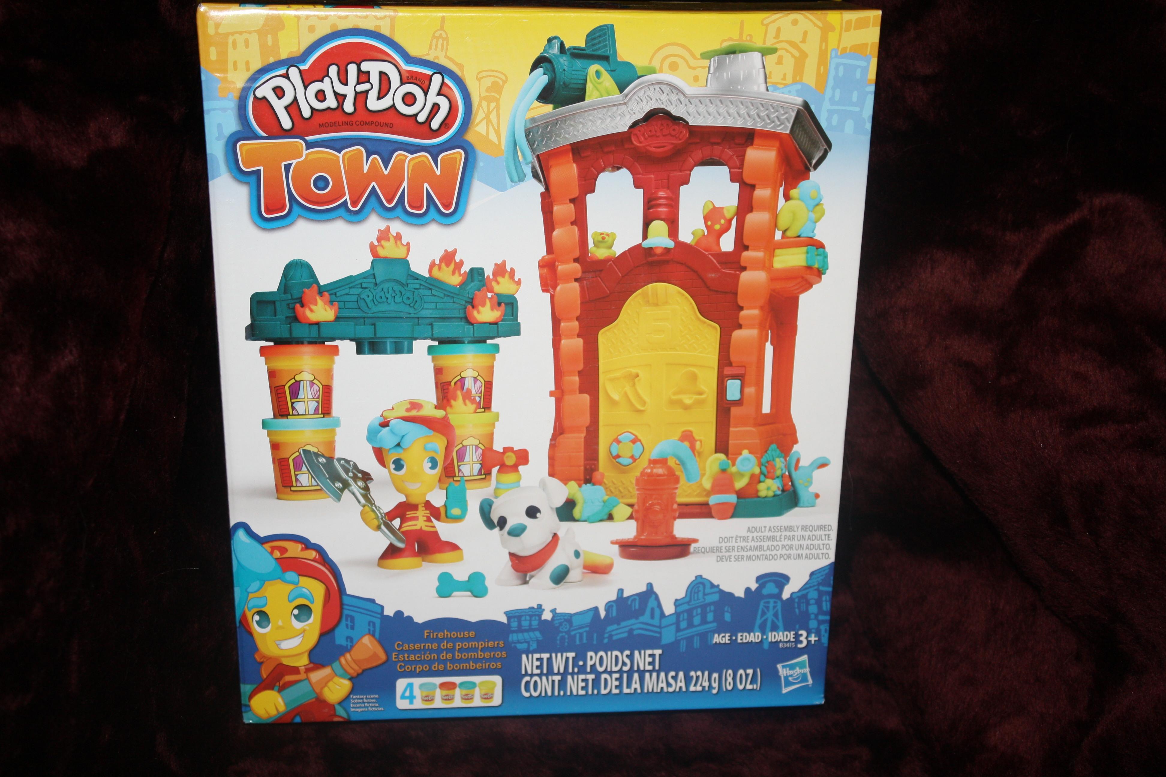79. Playdoh town