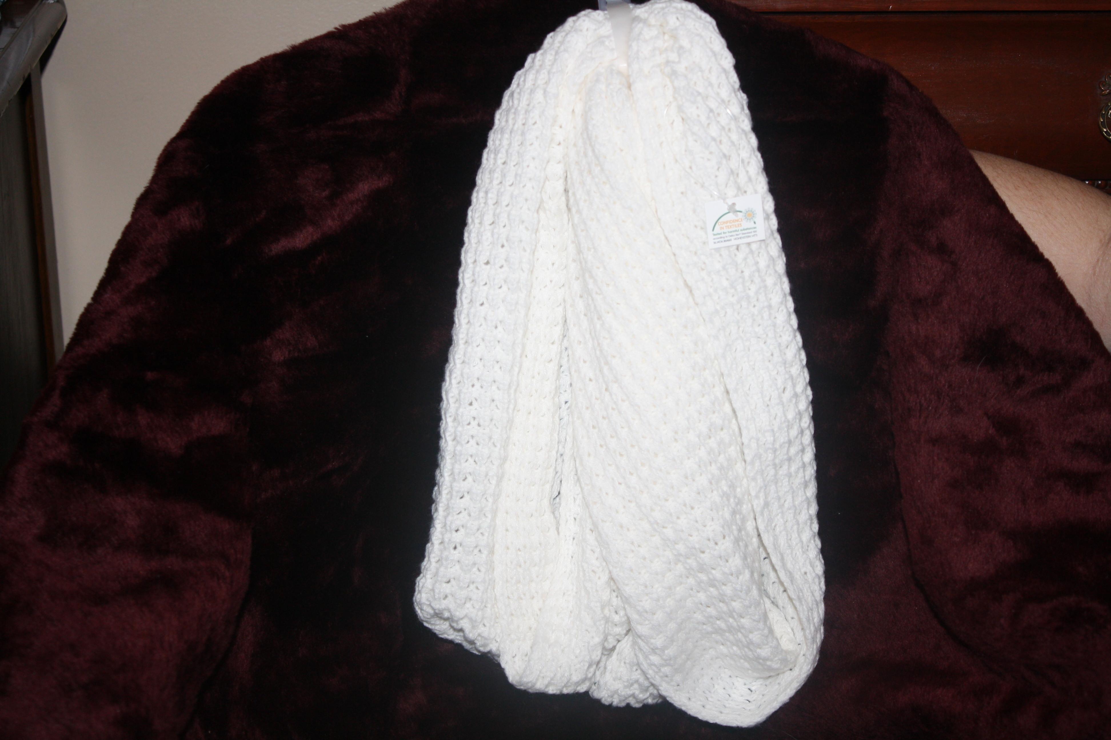 88. White scarf