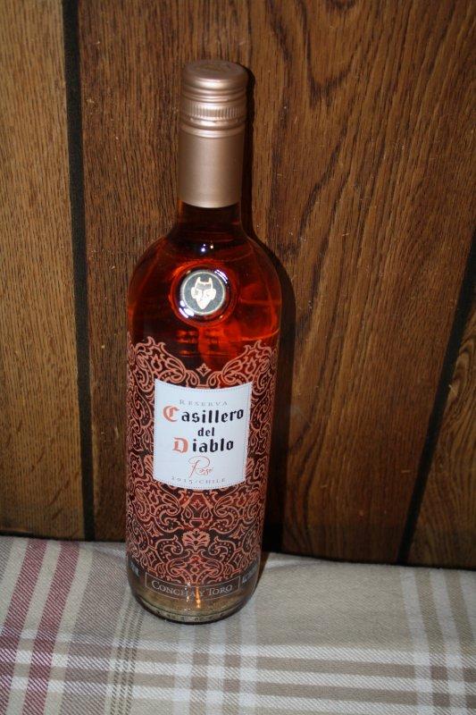 30. Casillero del Diablo rose wine