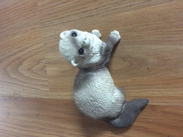 113. Ferret figurine