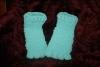 43. Green poppy Troll slippers