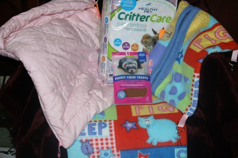 312. Cat 3 pce bedding set w/critter care