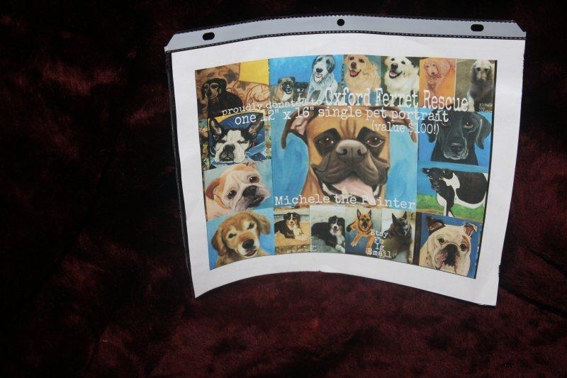 210. Michele (painter) 12x16 single pet portrait