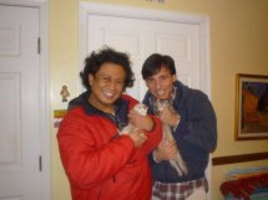 Kevin and Juan from Pa took Zeke and Shadow 01/2011